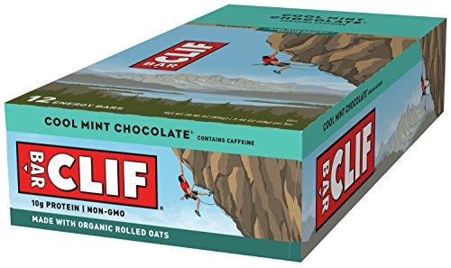energy bar  cool mint chocolate  with caffeine 24 ounce