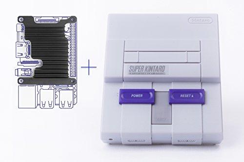 Kintaro Super Kuma 9000 – SNES Inspired Raspberry Pi Case with